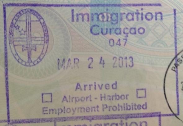 Inmigración: Aeropuerto Internacional Hato de Curaçao