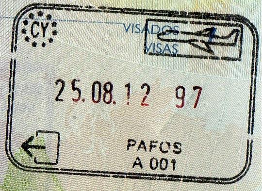 Emigración: Puerto de Pafos, Chipre (Cortesía: Javier Sevil)
