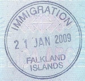Inmigración: Islas Falkland / Malvinas (Cortesía: Patricio Nogueira)
