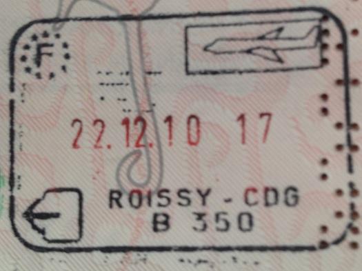 Emigración: Aeropuerto Internacional Charles de Gaulle en Roissy, Francia