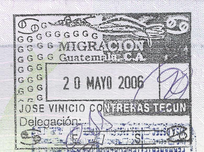 Guatemala con nombre funcionario