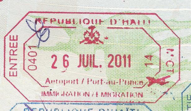 Haití entrada