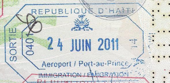 Haití salida