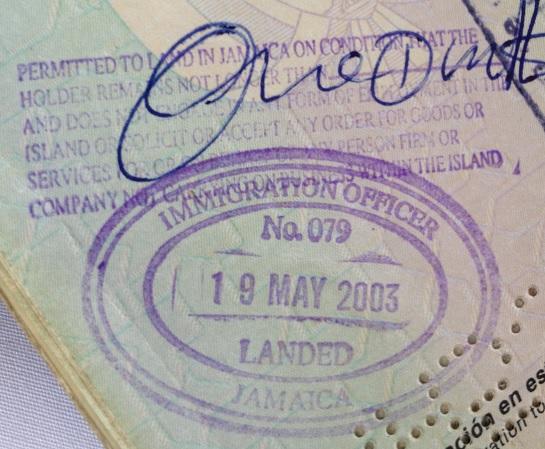 Inmigración: Aeropuerto Internacional Norman Manley de Kingston, Jamaica