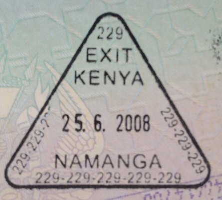Emigración: Puesto fronterizo de Namanga, Kenya