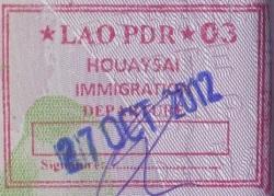 Emigración: Puerto fronterizo de Houaysai, Laos (Cortesía: Juan Carlos Herrera)