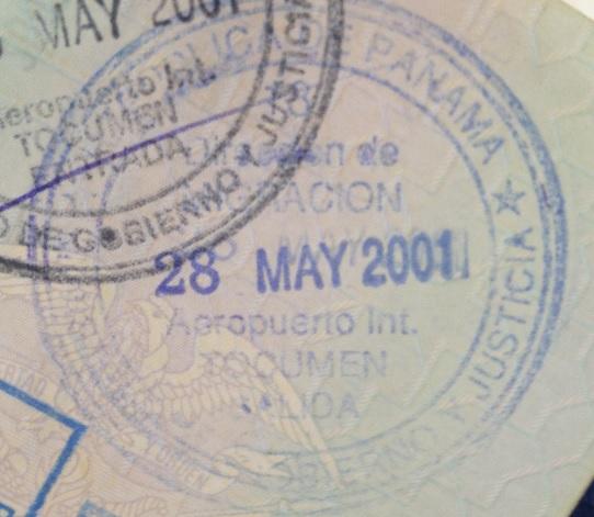 Emigración: Aeropuerto Internacional de Tocumen en Ciudad de Panamá, Panamá