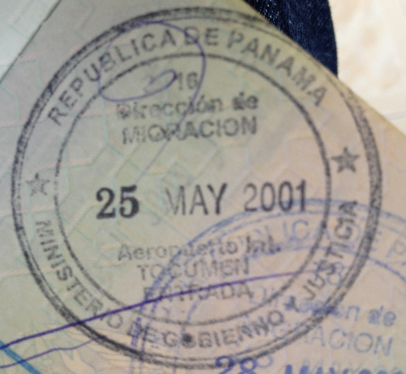 Inmigración: Aeropuerto Internacional de Tocumen en Ciudad de Panamá, Panamá