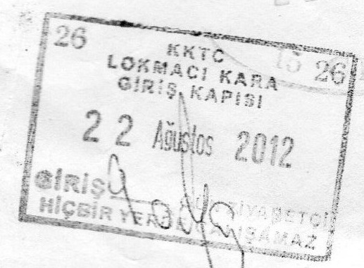 Inmigración: República Turca del Norte de Chipre (Cortesía: Javier Sevil)