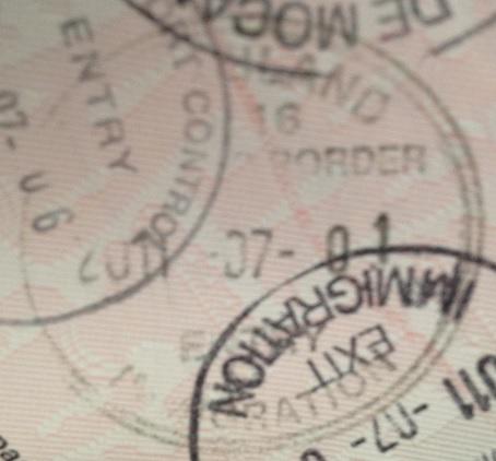 Inmigración: Puesto fronterizo de Goba, Swazilandia