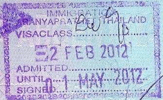Inmigración: Aranyaprathet, Tailandia (Cortesía: Patricio Nogueira)