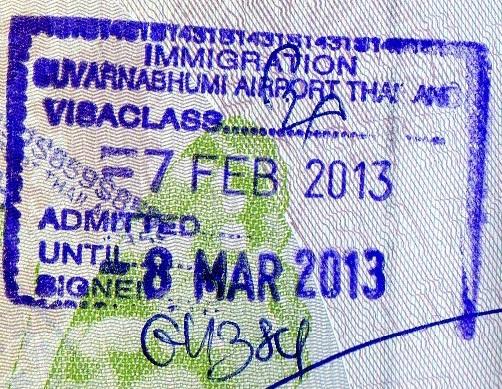 Inmigración: Aeropuerto Internacional de Suvarnabhumi en Bangkok, Tailandia (Cortesía: Javier Sevil)