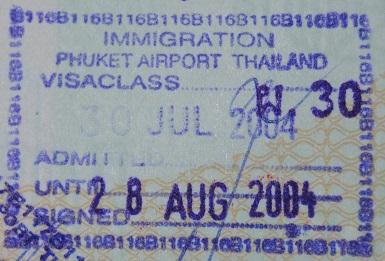 Inmigración: Aeropuerto Internacional de Phuket, Tailandia (Cortesía: Luis Miguel Barquillo)
