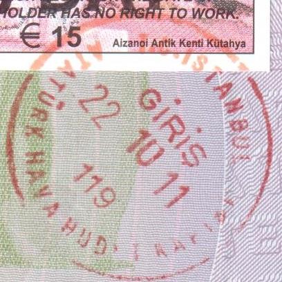 Inmigración: Aeropuerto Internacional Atatürk de Estambul, Turquía (Cortesía: Serafín Fernández)