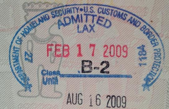 Inmigración: Aeropuerto Internacional de Los Ángeles, Estados Unidos