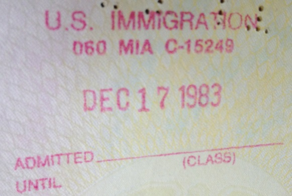Inmigración: Aeropuerto Internacional de Miami, Estados Unidos