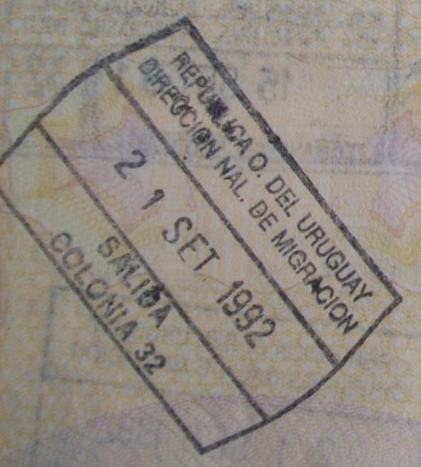 Emigración: Puerto de Colonia, Uruguay (Cortesía: Patricio Nogueira)