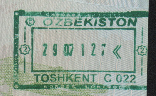 Emigración: Aeropuerto Internacional de Tashkent, Uzbekistán (Cortesía: Adrià)