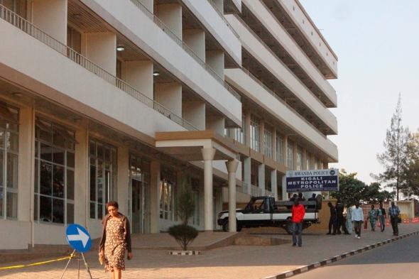 Policía metropolitana de Kigali