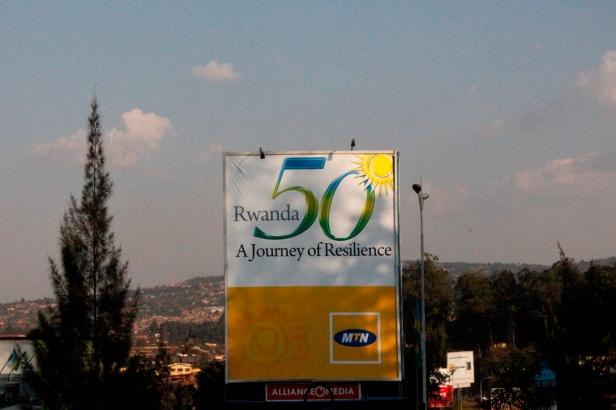 Conmemoración de los 50 años de independencia de Rwanda