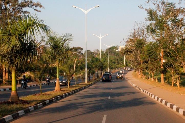 Barrios residenciales en Kigali