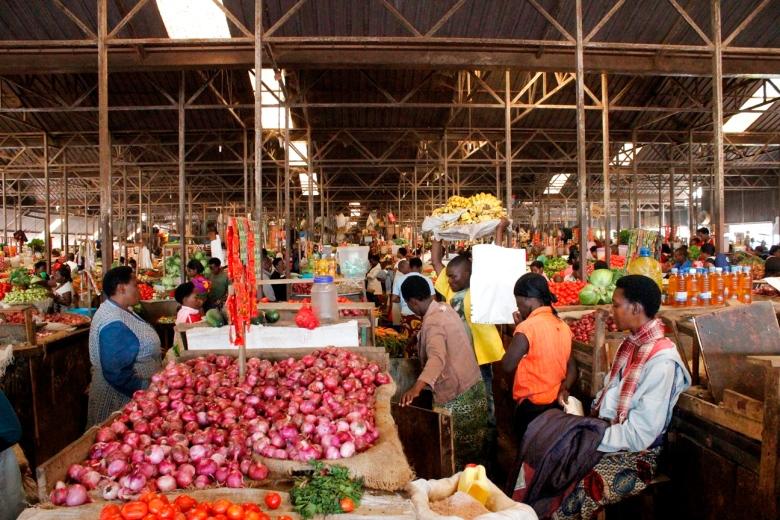 Mercado municipal de Kigali
