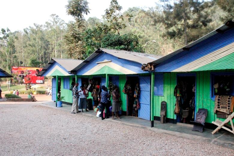 Mercado Artesanal de Caplaki en Kigali