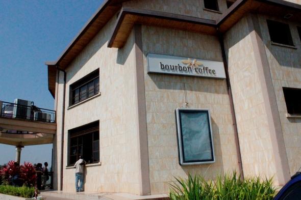 Bourbon Coffee en Kigali