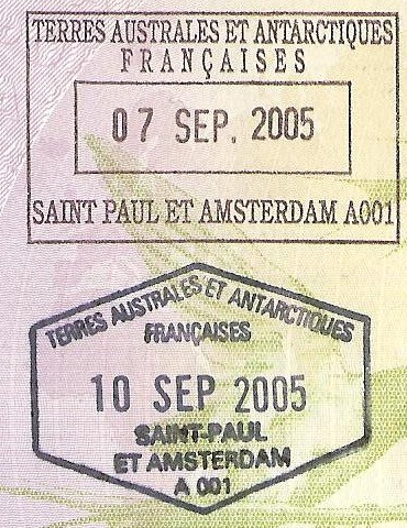 SAINT PAUL ET AMSTERDAM