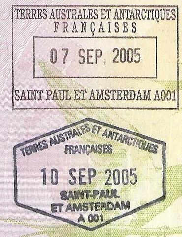 SAINT PAUL ET AMSTERDAM