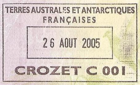 TIERRAS AUSTRALES Y ANTÁRTICAS FRANCESAS 1