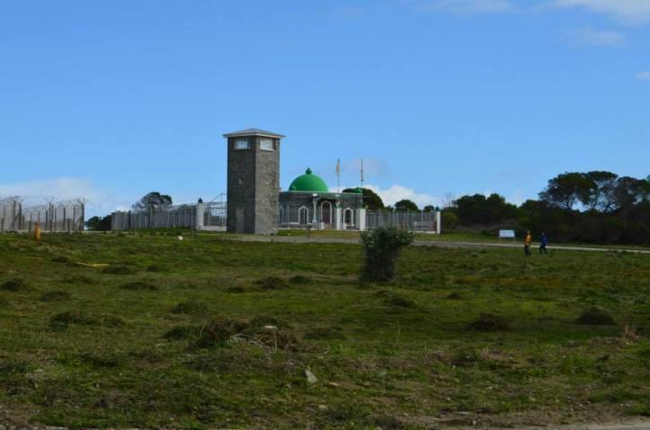Torre de seguridad y Kramat en Robben Island