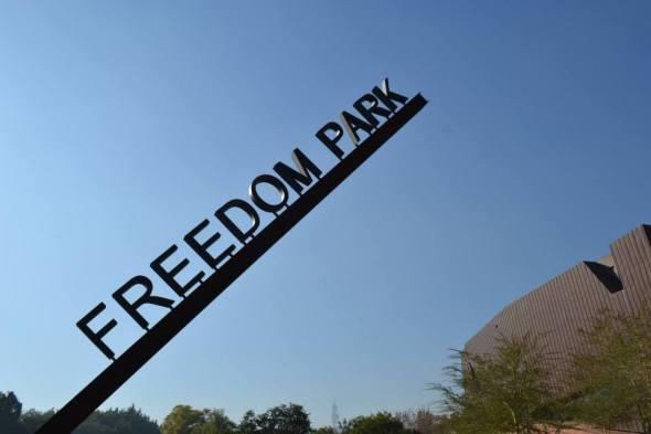 Entrada al Freedom Park en Pretoria