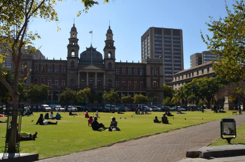 Church Square en Pretoria