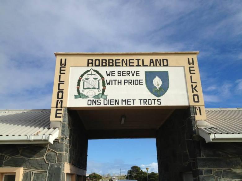 Entrada a Robben Island: Servimos con Orgullo