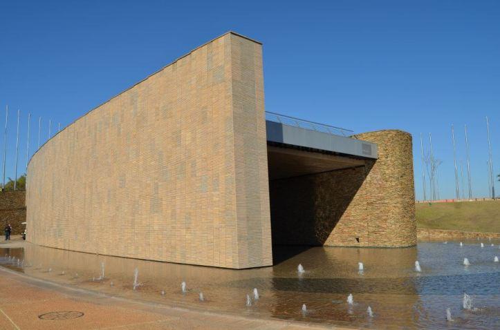 Anfiteatro en el Freedom Park de Pretoria