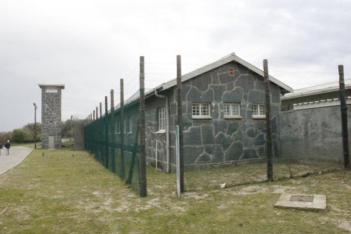 Cárcel en Robben Island