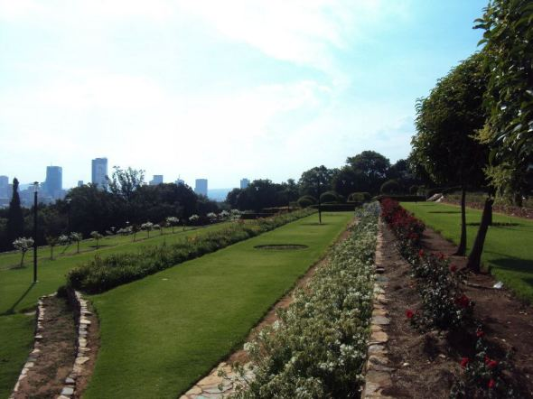 Pretoria vista desde Union Buildings