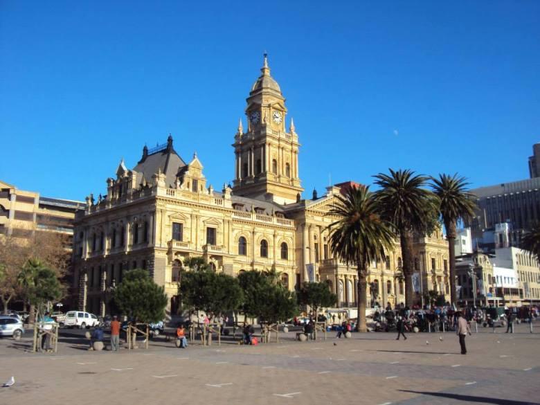 Panorámica de la antigua alcaldía de Ciudad del Cabo