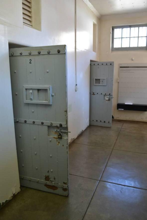 Antigua cárcel en Constitution Hill