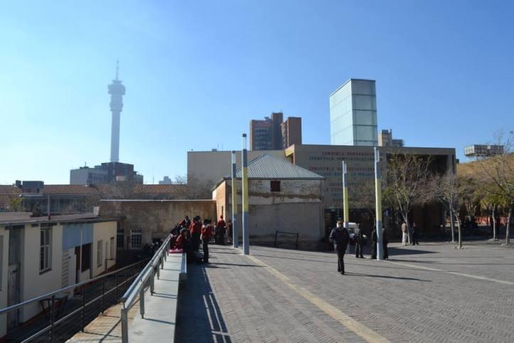 Johannesburgo visto desde Constitution Hill