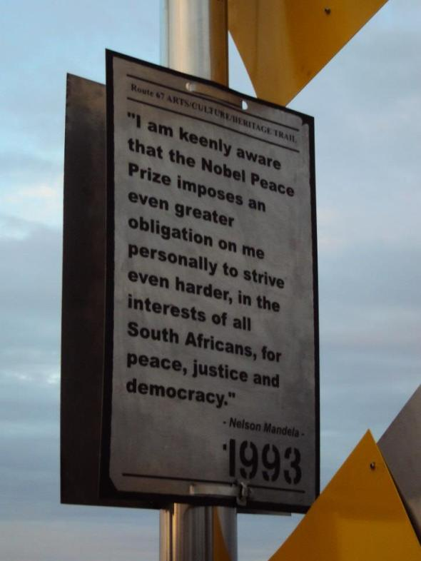 Donkin Reserve en Port Elizabeth, Sudáfrica