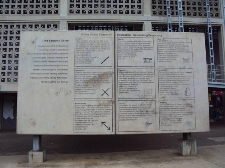 Los 7 pilares de la democracia en Kliptown