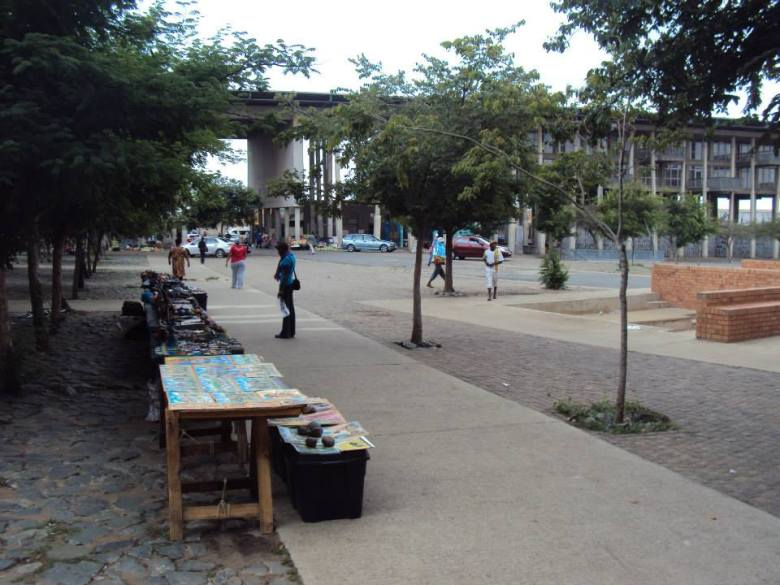 Plaza de la Democracia en Kliptown