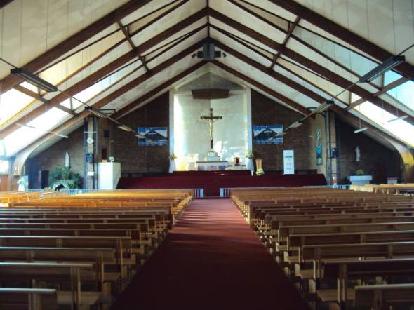 Iglesia Regina Mundi en Soweto
