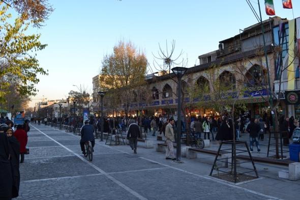Exterior del Gran Bazar de Teherán