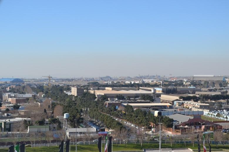 Teherán vista desde la Torre Azadí