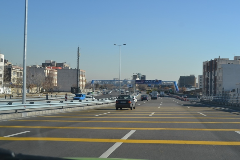 De camino a la Torre Milad