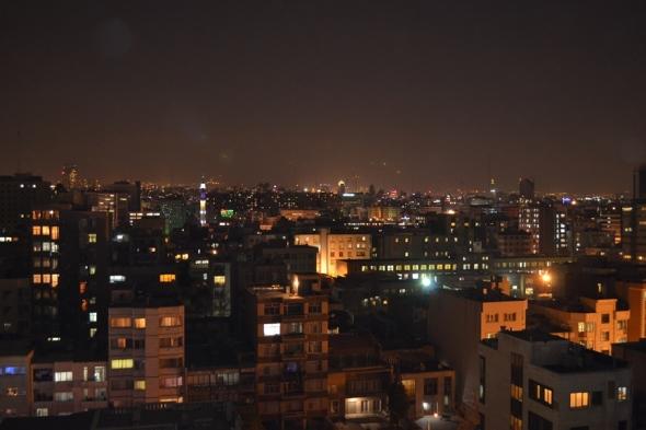 Teherán de noche