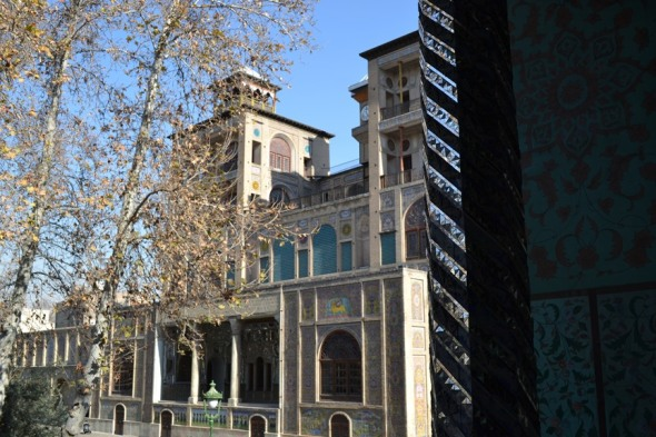Palacio de Golestán en Teherán, Irán